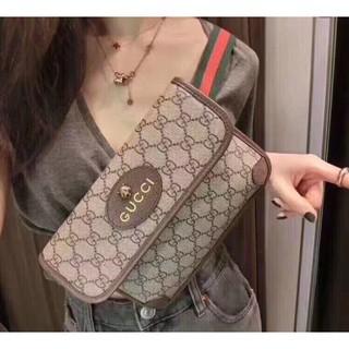 Gucci 493930 GG Supreme belt bag กระเป๋าหัวเสือเข็มขัด