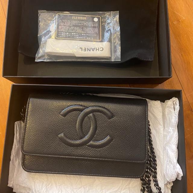 Chanel woc ของแท้💯หนังคาเวียร์✅ผ่อนสบายๆได้ 10 เดือน ✅ เพียงเดือนละ 4,990.- เท่านั้น!!