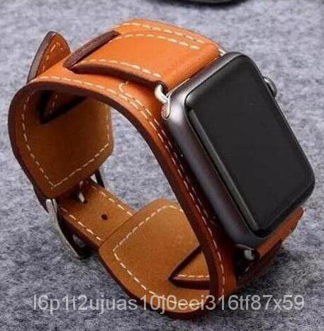 hot selling wrist belt For Apple Watch band Leather Loop 42mm 38mm 40mm 44mm link bracelet For iWatch strap Series 5 4 3