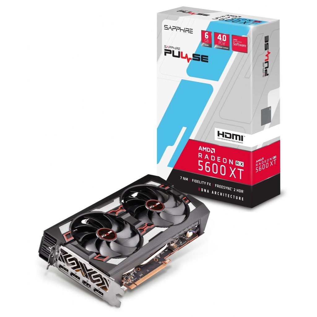VGA SAPPHIRE PULSE RX 5600XT 6G GDDR6