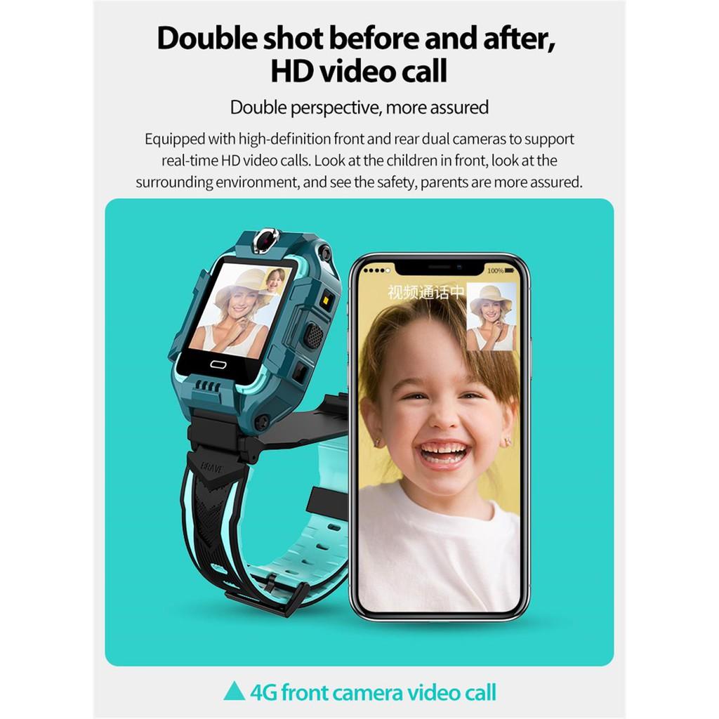 จัดส่งฟรี T10-360 ํ-4G HD Video Call มีกล้องหน้า-หลัง นาฬิกาโทร เมนูภาษาไทย imoo watch z6 นาฬิกาไอโมเด็ก ไอโม่ ไอโม่ z6