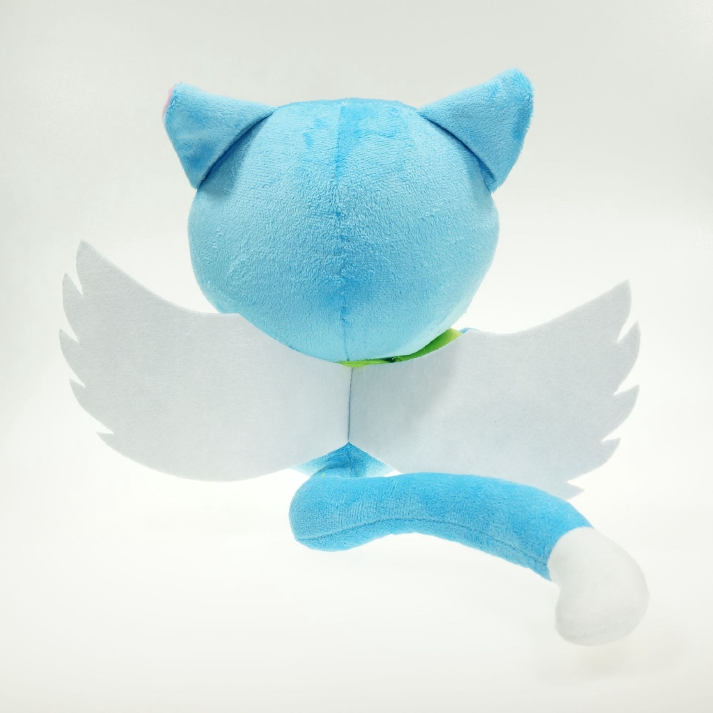 Image # 2 of Review ตุ๊กตาของเล่น Anime Fairy Tail Happy Doll ขนาด 25 ซม.