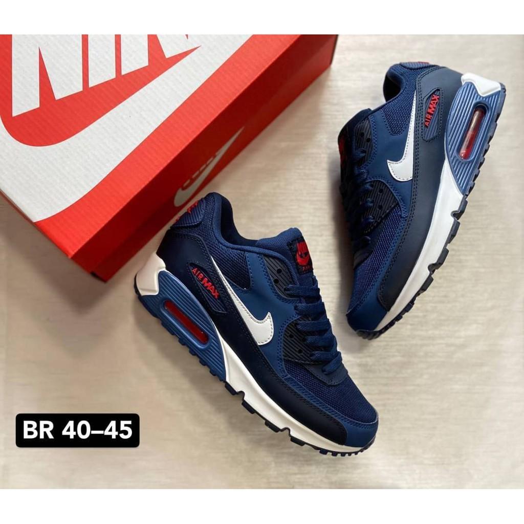 ลดราคา รองเท้า  Nike air max 90 รองเท้าผ้าใบ รองเท้าแฟชั่น รองเท้าลำลอง 1/1