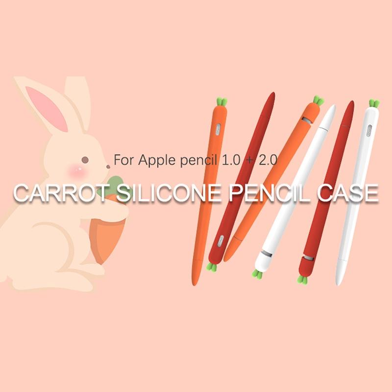 เคสซิลิโคนกันลื่นสําหรับ Apple Pencil 1 2 Case Cover Universal 1