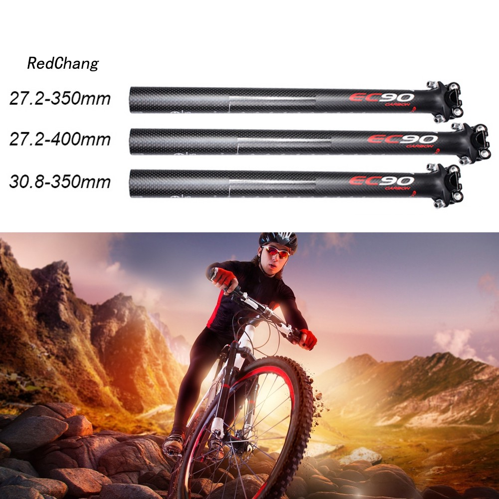 MTB Road Bike Bicycle Aluminum Saddle Seat Post Super Light Seatpost 31.6*350mm