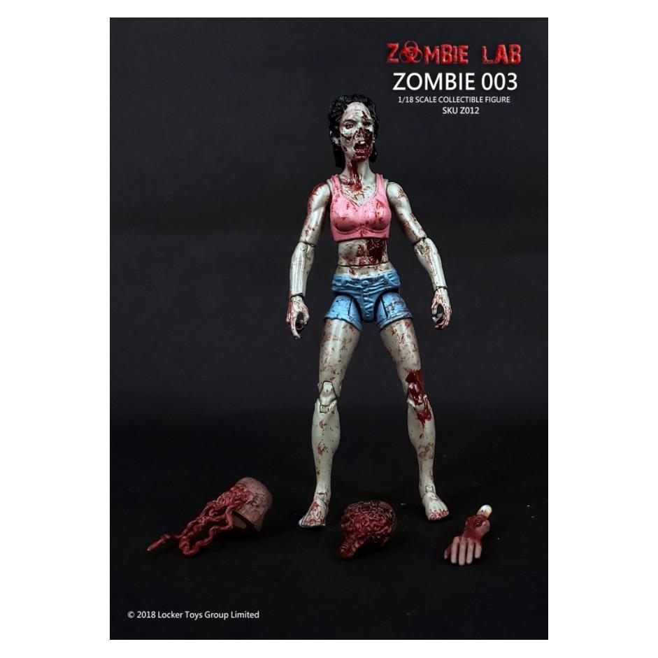 №❶1/18 Figure - Zombie Lab - Zombie 003 REFb