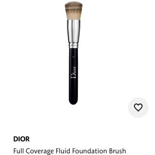 Review Dior full coverage foundation brush