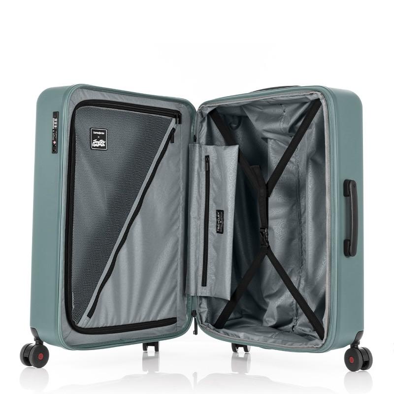 SAMSONITE RED กระเป๋าเดินทางล้อลาก ขยายได้ รุ่น TOIIS C ขนาด 28 นิ้ว HARDSIDE SPINNER 75/28 EXP TSA LOCK MWd5