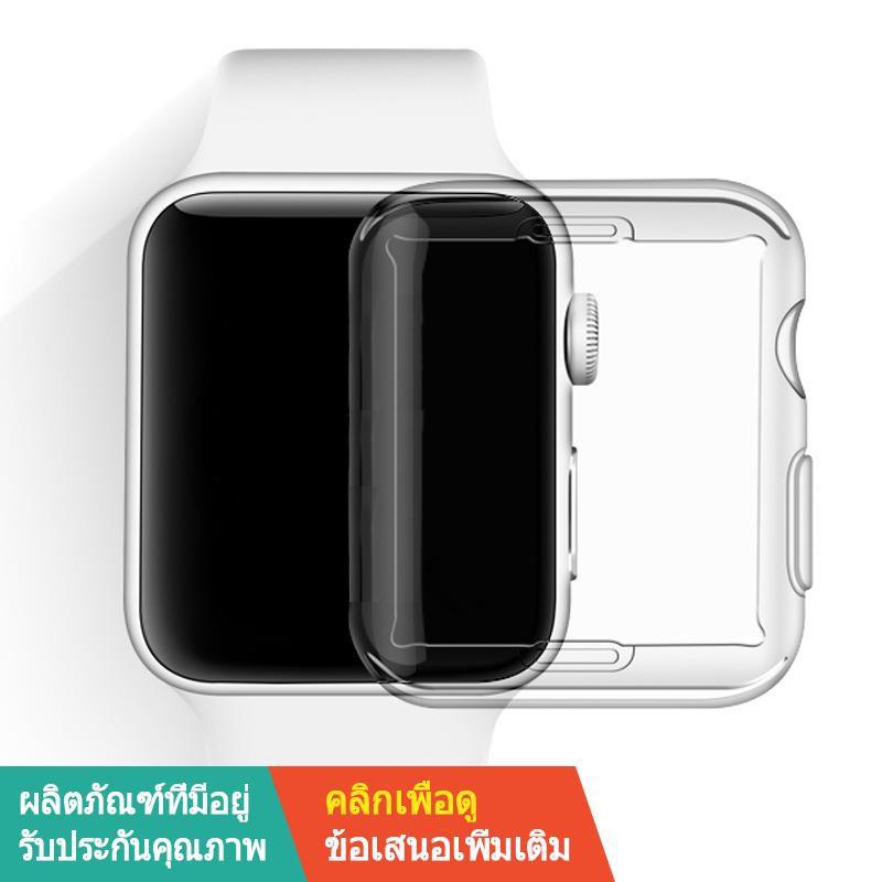 【ขาย】✷เหมาะสำหรับ Iwatch6 เปลือกป้องกัน Apple Watch รุ่นที่ 4 โปร่งใส applewatch series 5 SE