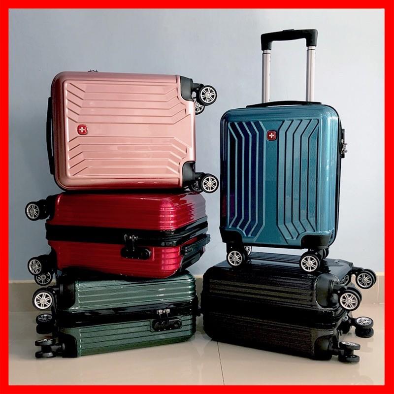 [8 ล้อคู่ + ซิปกันขโมย] กระเป๋านักเรียน กระเป๋าซิป กระเป๋าล้อลาก กระเป๋าเด็ก กระเป๋าเดินทาง ขนาด 16 นิ้ว กุญแจรหัส