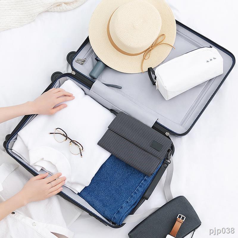 กระเป๋าเงินกระเป๋าเดินทางล้อลากกระเป๋าเดินทาง❏Mi กระเป๋าเดินทางรุ่นเยาวชนกระเป๋าเดินทางชายและหญิง 20 นิ้วล้อสากล 24 นิ้ว