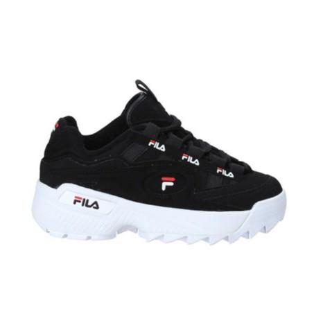 2019ใหม่รองเท้า FILA Blades รองเท้าสตรีรองเท้าขาวดำ Disruptor3  2 รองเท้าวิ่งฟันเลื่อยขนาดใหญ่รองเท้าผู้ชายD-FORMATION