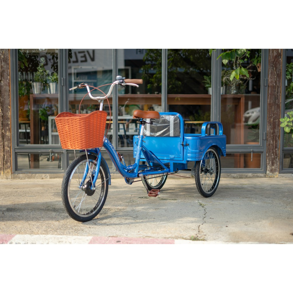 จักรยานสามล้อกระบะLANMA 20นิ้ว ปรับเป็นที่นั่งได้