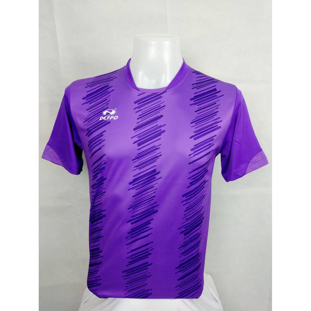 เสื้อฟุตบอลคอกลมพิมพ์ลาย DEFFO 49-905