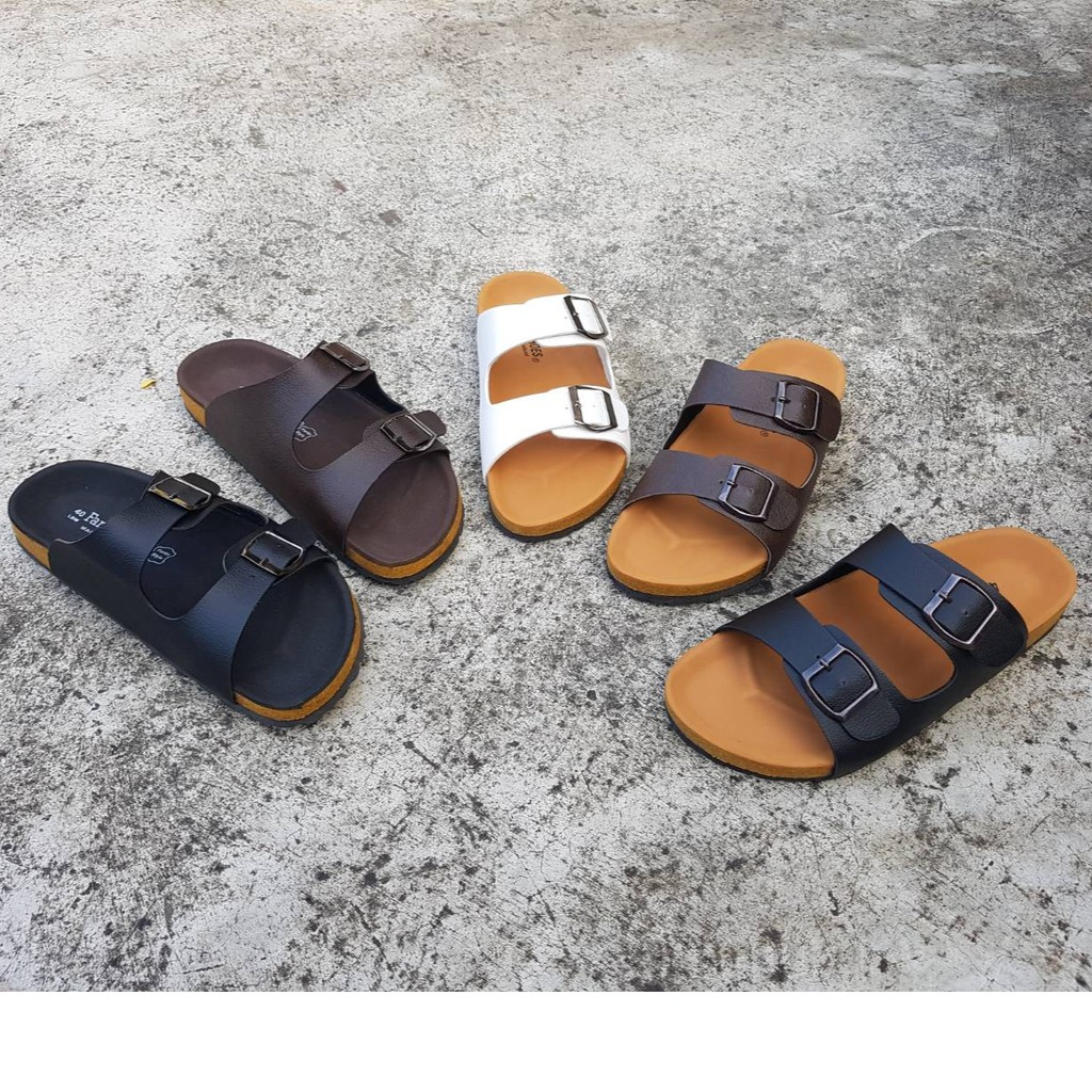 รองเท้าแตะ ฺBikenStock 2Step  เบอร์ใหญ่ 41-44 สายปรับระดับได้