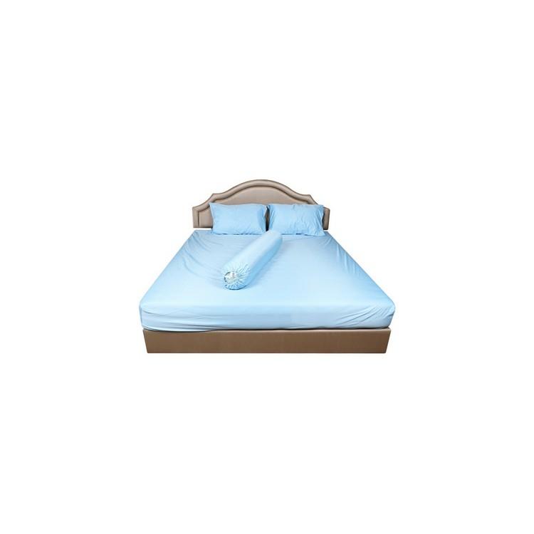 ส่งฟรี ผ้าปู K5 HOME LIVING STYLE 375TC SEEN WATERPROOF BLUE | HOME LIVING STYLE | ผ้าปู K HLS กันน้ำ BL ผ้าปูที่นอน ชุด
