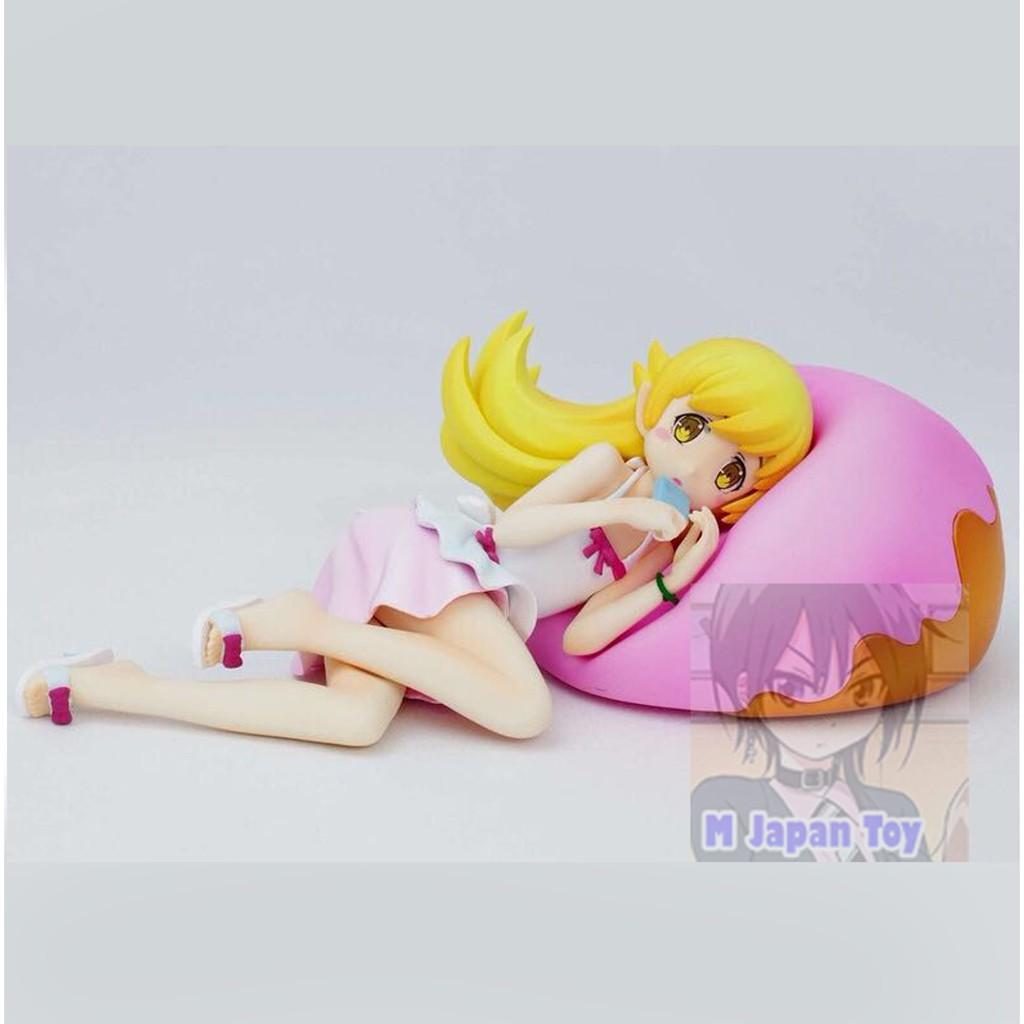 ฟิกเกอร์ งานแท้ มือ1 - Shinobu / Donut Cushion Figure [ Bakemonogatari ]