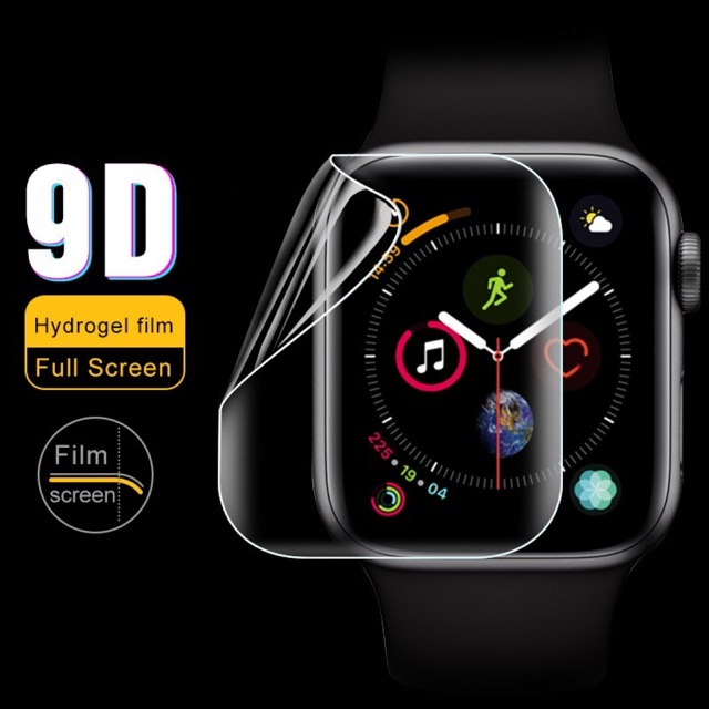 สำหรับ AppleWatch Series 5/4/3/2/1 38mm 40mm 42mm 44mm HD Screen Protector Thin Hydrogel film ป้องกันหน้าจอ