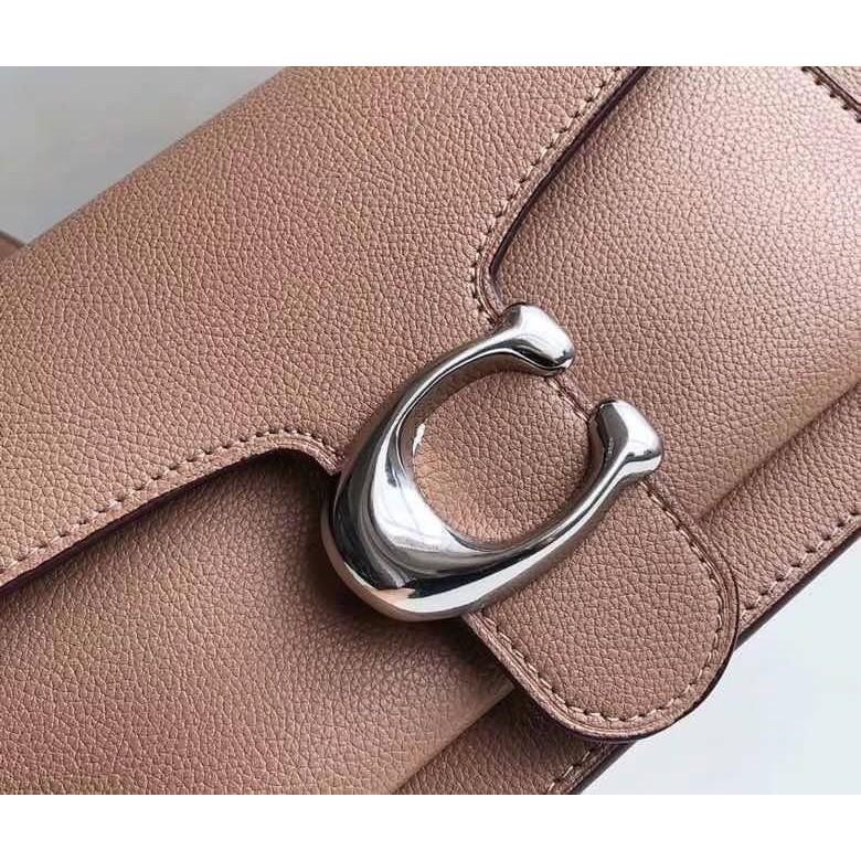 🌈กระเป๋าสะพายข้าง Coach แท้💯 (พร้อมส่ง) ส่งฟรี Coach tabby convenience shoulder bag crossbody