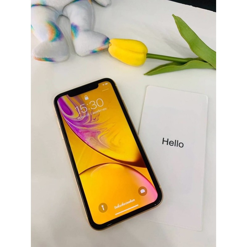 IPhone  XR  64gb ศูนย์ไทย มืองสอง