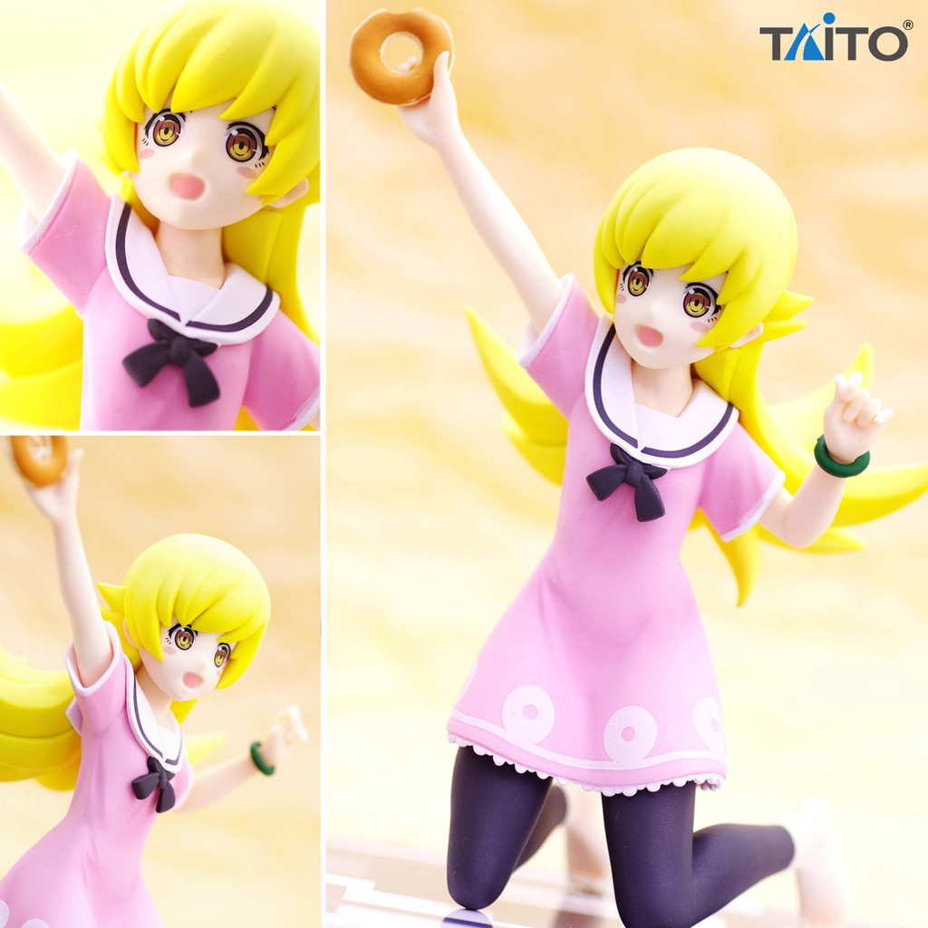 Model Figure งานแท้ Original Taito Monogatari Serie โมโนกาตาริ ซีรี่ส์ Bakemonogatari Shinobu Oshino โอชิโนะ ชิโนบุ