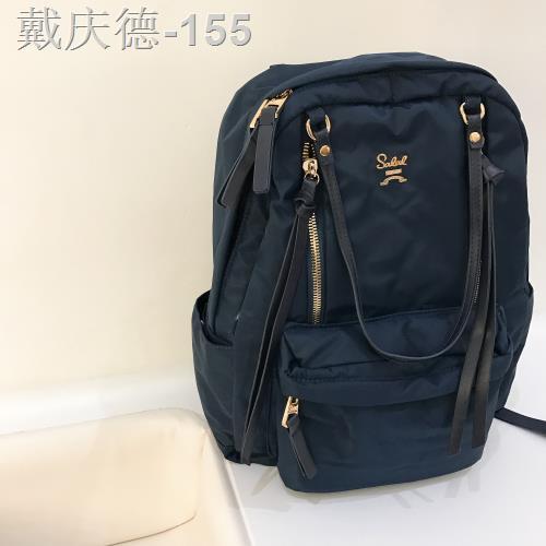 กระเป๋าเป้ผ้าไนลอน Oxford ผู้หญิงสามวัตถุประสงค์ 2020 ใหม่ 14 นิ้วกระเป๋าเป้สะพายหลังสลัดเดินทาง 15.6 นิ้วกระเป๋าคอมพิวเ