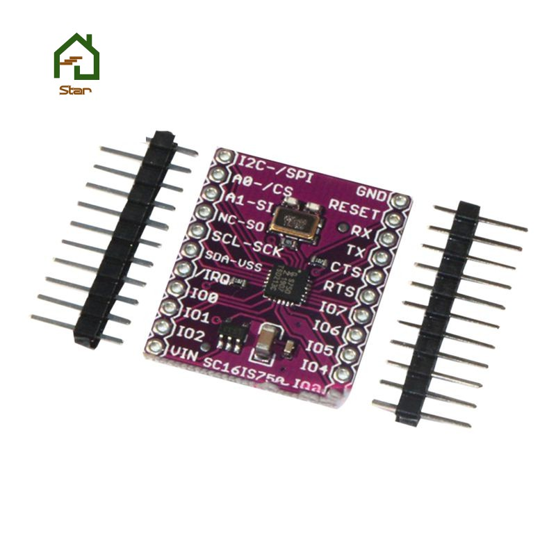 SC16IS750 Single UART with I2C-bus/SPI interface
