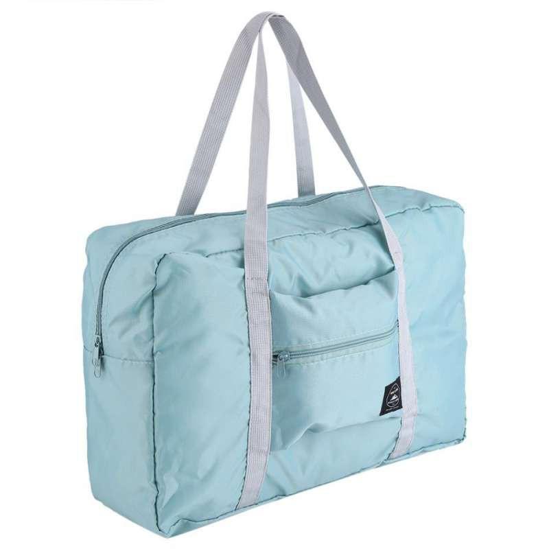 กระเป๋ากันน้ำ กระเป๋าถือเดินทาง พับเก็บได้ Weekeight folding carry bag ขนาดขยาย 48 x 32 x 16 ซม. ขนาดพับ 21 x 18 ซม.