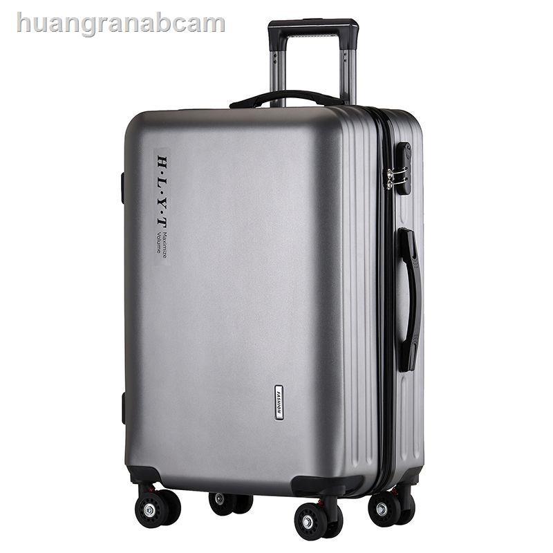 ۩✸เวอร์ชั่นเกาหลีของกระเป๋าเดินทางแบบซิป 24 นิ้ว men's suitcase 22 inch women's 20 box 26 password