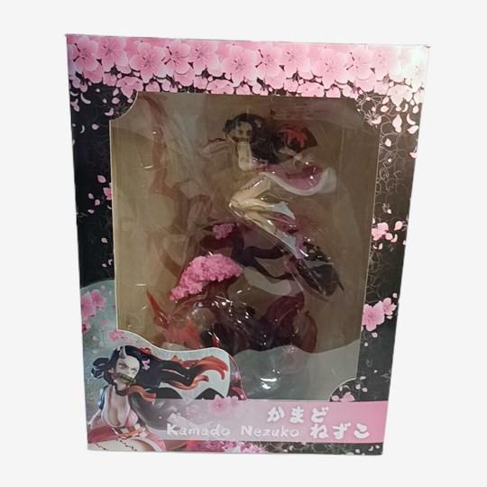 ✺✑✲32cm Demon Slayer: Kimetsu No Yaiba Kamado Nezuko Statue Figure Model1