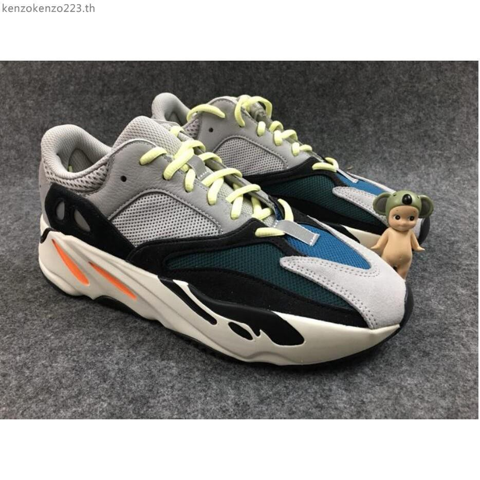 d50e31db954 Adidas Yeezy Boost 700 Static gray-white coconut 3M reflective running shoes  36-46
