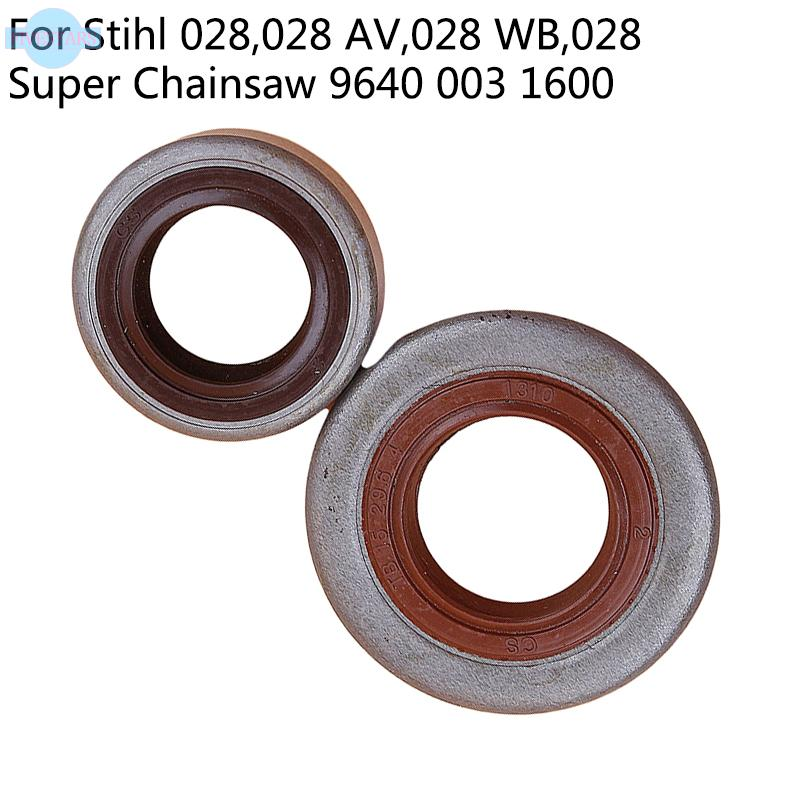 Oil Seals For Stihl 028 028 WB Chainsaw Outdoor Accessories Convenient