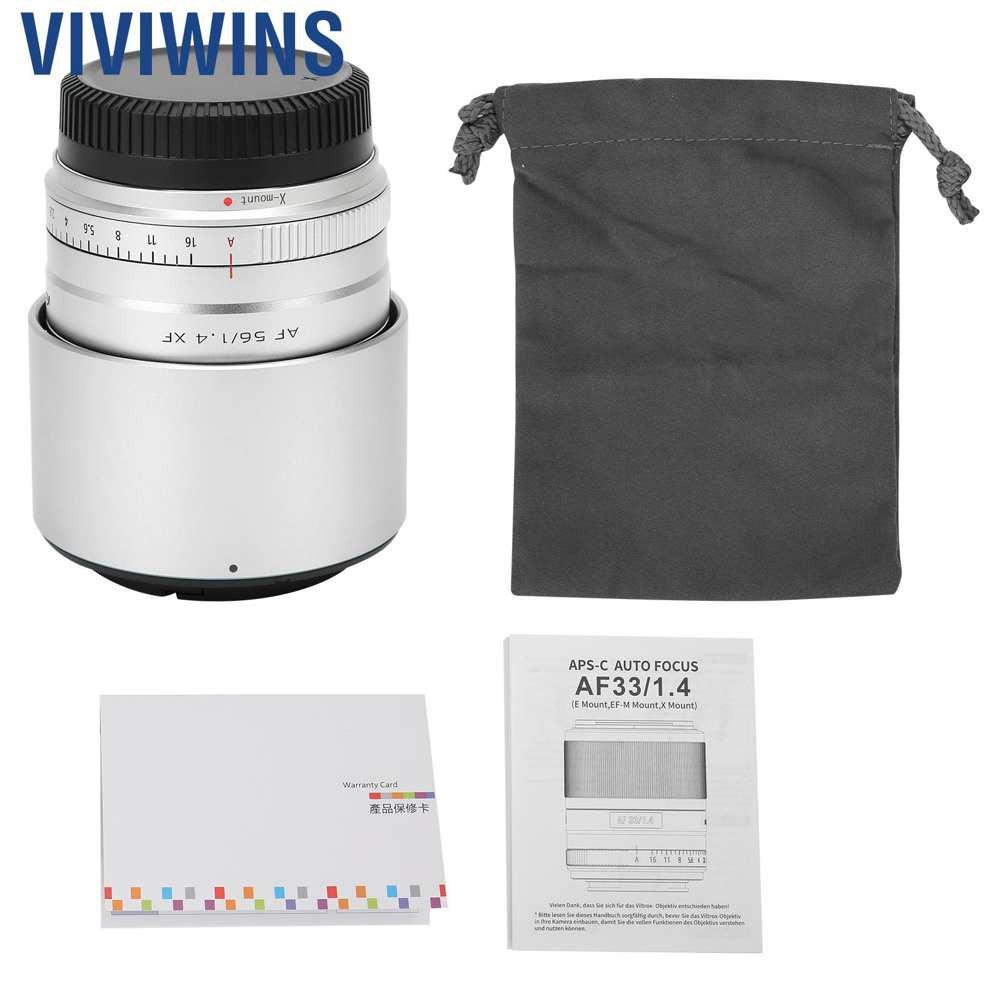 Viviwins Viltrox 56 Mm F1 . 4 เลนส์โฟกัสอัตโนมัติสําหรับ Fuji X Mount Camera