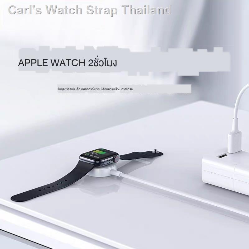 band สาย☈▬ที่ชาร์จ Apple Watch Universal iwatch6 / se 5/4/3/2/1 รุ่น applewatch series4 การชาร์จเร็วแบบแม่เหล็กไร้สายที