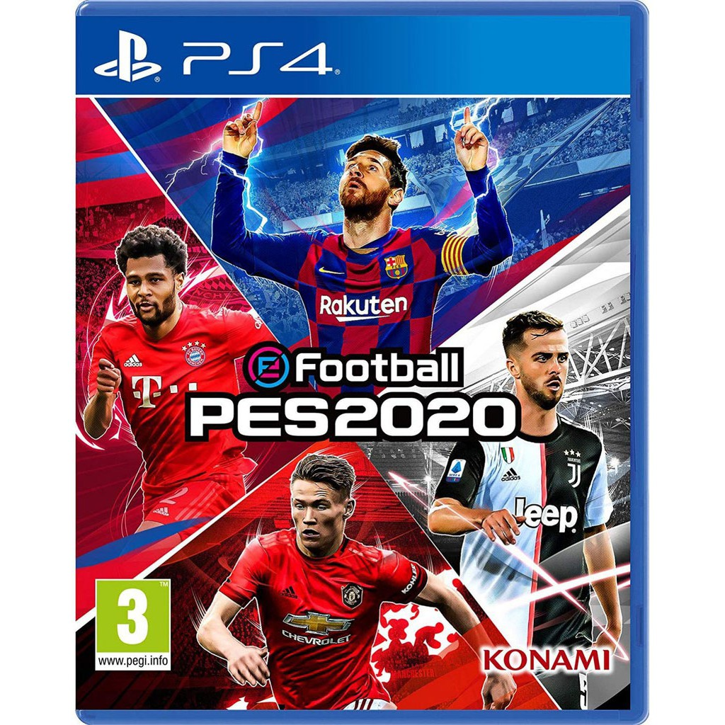 Pro Evolution Soccer eFootball PES2020 Zone3 (มือสอง) สำหรับเครื่อง PlayStation 4 PS4