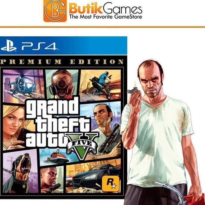 Gta 5 GTA V GRAND THEFT AUTO V PREMIUM ONLINE EDITION PS4 ผลิตภัณฑ์เสริมสําหรับเครื่องเล่นเกม