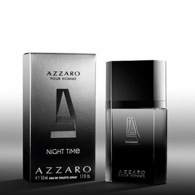 Rare🇫🇷 Azzaro pour Homme Night Time  EDT Spray 50ml new in box