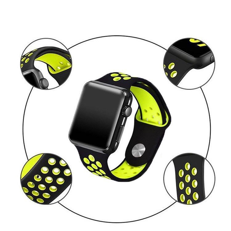 สาย applewatch แท้ สาย applewatch พร้อมส่ง สายนาฬิกาApple Watch Series ข้อมือ สำหรับ 5/4/3/2/1 ขนาด 38/40/42/44 มม