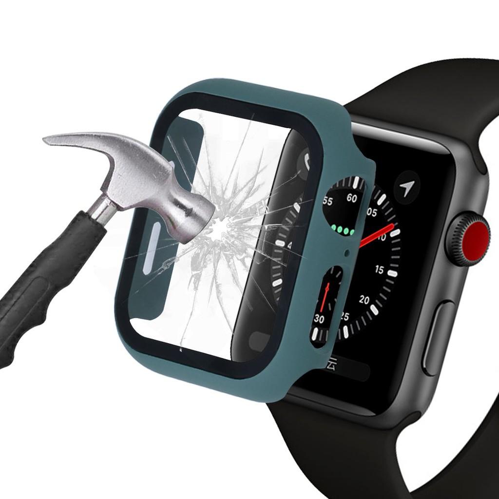 สาย applewatch สายนาฬิกา applewatch ✅ััพร้อมส่ง✅ััCase Apple Watch + ฟิลม์กระจก, สำหรับ Apple Watch Series 6 5 4 3 2 1 S