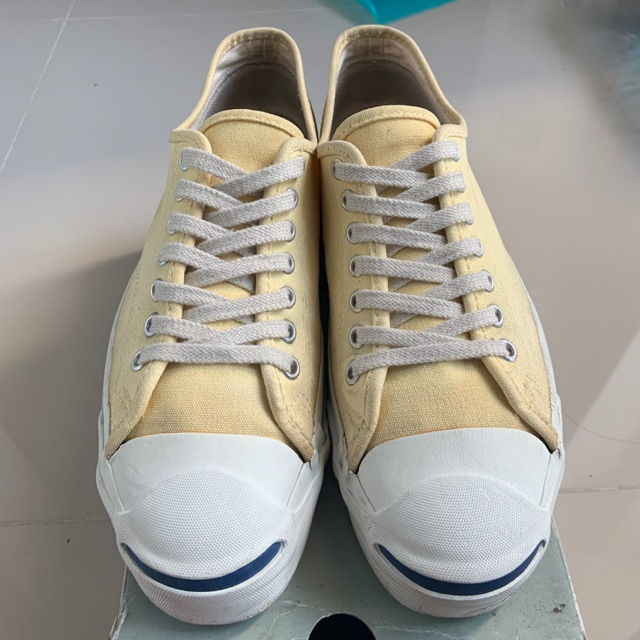 Converse jack purcell made in USA color banana