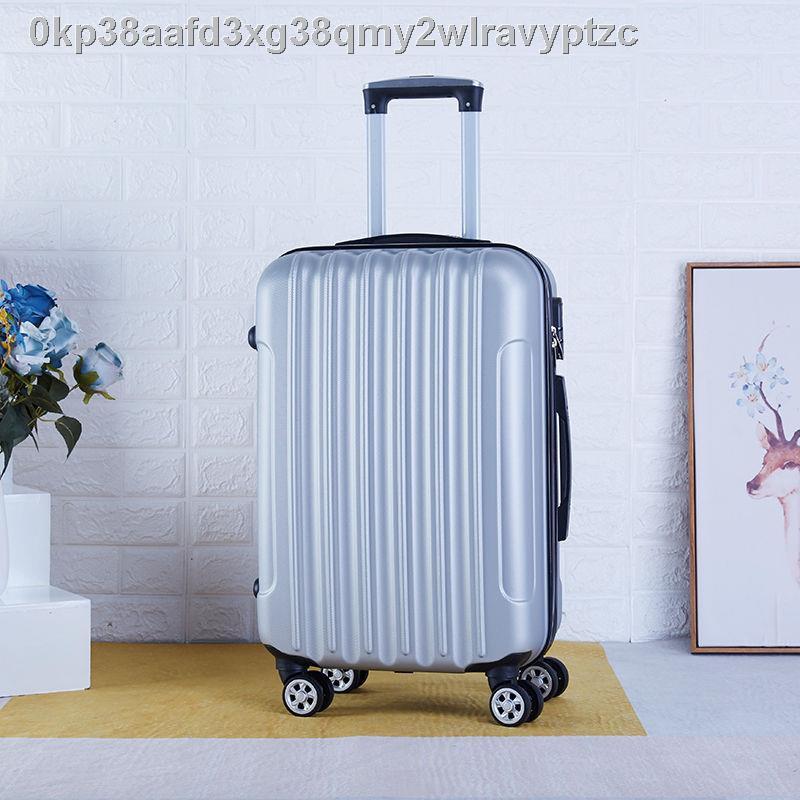 ✤เวอร์ชั่นเกาหลีของกระเป๋าเดินทางบุคลิกภาพสำหรับผู้ชายและผู้หญิง 20-inch cabin suitcase student universal wheel 24 inch