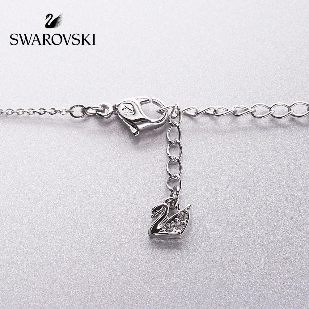 Swarovski ไล่ระดับสีหงส์ (เล็ก) ICONIC SWAN สร้อยคอผู้หญิงเรียบง่ายและทันสมัยของขวัญทานาบาตะ
