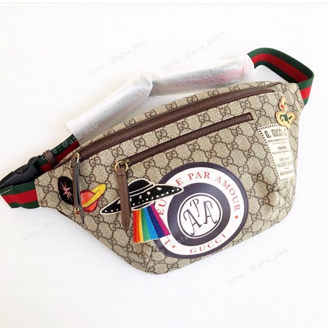 NEW Gucci Courier Supreme Belt Bag