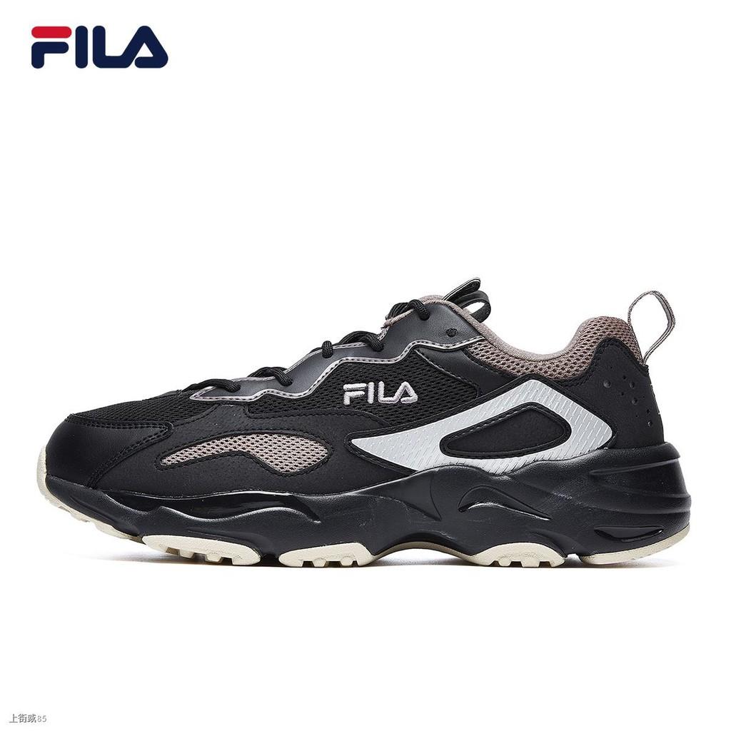 ☋✵FILA รองเท้าผู้ชายรองเท้าเก่า 2020 ฤดูใบไม้ร่วงและฤดูหนาวอินเทรนด์รองเท้าวิ่งรองเท้าลำลองรองเท้าวิ่งรองเท้าผ้าใบย้อนย
