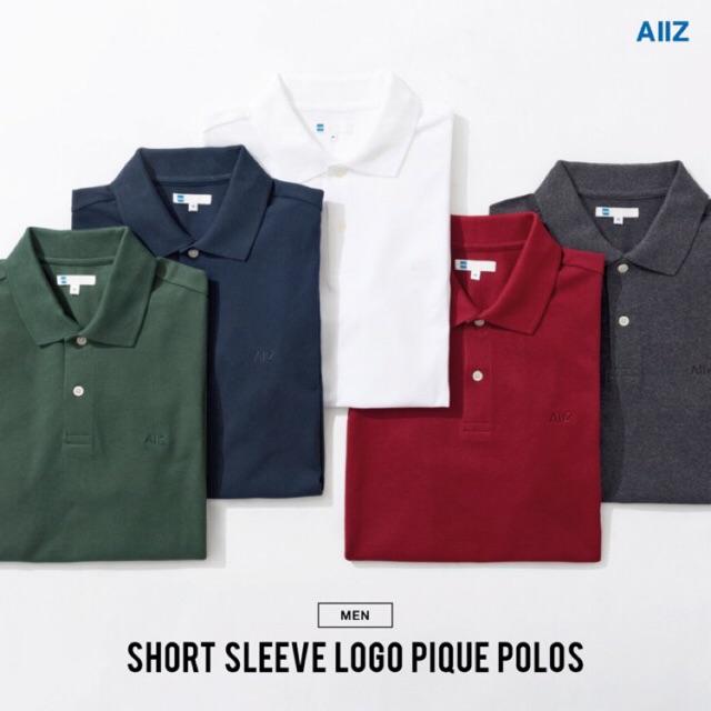 5d45e96c เสื้อโปโลสีพื้นAIIZ แท้ | Shopee Thailand