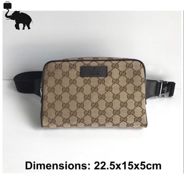 ใหม่ล่าสุดGucci belt bag ราคารูดผ่อน 0% ไม่มีค่าธรรมเนียมเพิ่มเติมของแท้ 100%