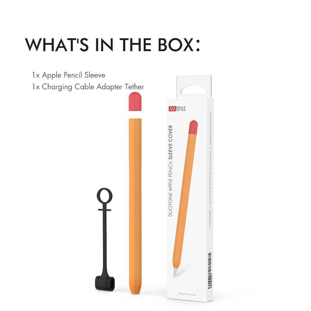เคสซิลิโคนแบบบางสําหรับ Apple Pencil Case 1 / 2gen