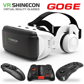 New VR glasses Shinecon Pro Virtual reality 3D VR glasses Goggle Cardboard headset virtual glasses for smart phones ios