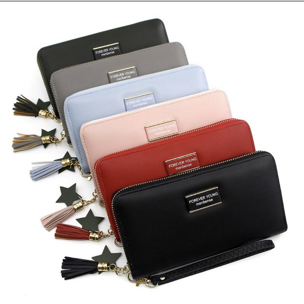 7?กระเป๋าสตางค์ใบยาวforever Young (w-002).