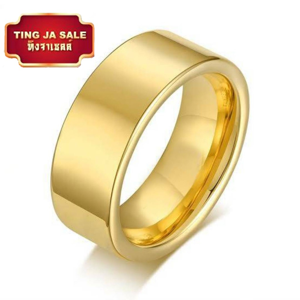 แหวนทองครึ่งสลึง ลายโปร่งจิกเพชร 96.5% คละลาย น้ำหนัก (1.9 กรัม) ทองแท้ จากเยาวราช น้ำหนักเต็ม ราคาถูกที่สุด ส่งฟรี มีใ
